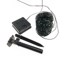 100 LED Solar Powered Twinkle Lights 2 Pack 39ft Hanging String Lights in Warm/White