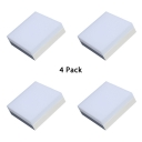 (4 Pack)Acrylic Round/Square Ceiling Light Mall Office Frameless 8.5 Inch LED Slim Panel Spot Light in White/Warm White