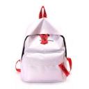 Popular Letter Printed Large Capacity School Bag Backpack 30*12*37 CM