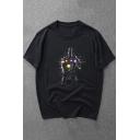 Cool Glove Hand Gesture Printed Short Sleeve Unisex T-Shirt