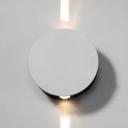 White Round Shape Spot Light Hallway 2/3/4 Light Beam High Brightness Wireless LED Wall Sconce