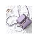 New Trendy Plain Metal Ring Chain Zipper Embellishment Convertible Shoulder Bag Backpack 22*11.5*23