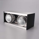 2/3 Lights Aluminum Recessed Down Light Wireless Angle Adjustable Light Fixture Recessed for Dining Room Foyer