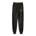 New Stylish Colorful Letter I Love You 3000 Sport Loose Jogger Pants Sweatpants