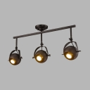 Restaurant Shop 3 Heads Spot Light Angle Adjustable High Brightness LED Light Fixture in White/Black/Aged Bronze