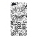 New Stylish Skull Letter Printed White Mobile Phone Case for iPhone