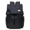 Cool Camouflage Printed Big Drawstring College Bag Laptop Backpack 31*16*43 CM