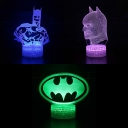 Movie Character LED Optical Nightlight 7 Color Changing Touch Sensor 3D Night Lamp for Bedroom Bathroom