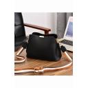 Fashion Letter Printed Wide Strap Large Capacity Crossbody Bucket Bag Shoulder Bag 26*11*18 CM