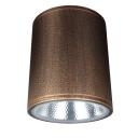 European Style LED Down Light Brown High Brightness COB Ceiling Light in White/Warm for Hotel Restaurant