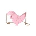 Lovely Dinosaur Shape Rivet Embellishment Chain Strap Crossbody Bag