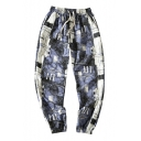 Men's Hip-Hop Stylish Drawstring Relaxed Fit Track Pants