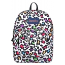 Fashion Colorful Camouflage Leopard Printed School Bag Backpack 32*17*42 CM