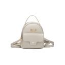 Utility Letter Pattern Multipurpose Crossbody Shoulder Bag Handbag 14*7*17 CM