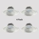 1/4 Pack Factory Supermarket LED Bay Lighting Aluminum 200W Warehouse Light with Heat Sink