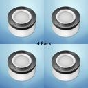 (4 Pack)Aluminum Long Life Spot Light Simple Style Drum Shape LED Ceiling Light in White/Warm White for Bedroom Hotel
