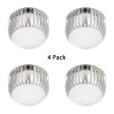 (4 Pack)Drum Shape Crystal LED Down Light Living Room Kitchen Flush Mount Light with Multi Color Option