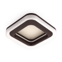 Square/Round LED Flush Mount Light Modern Slim Panel Spot Light in White/Warm/Neutral for Living Room