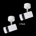 (2 Pack)Long Life Aluminum LED Spot Light Wireless High Brightness Ceiling Light in Warm White/Cool White for Kitchen