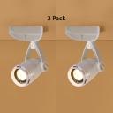 (2 Pack)Angel Adjustable LED Ceiling Light Black/White Wireless Spot Light in White/Warm White