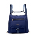 Women Nylon Waterproof Multi-function Backpack Lightweight Handbag