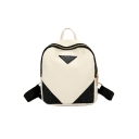 Fashion Crocodile Skin Pattern Soft Leather Casual Backpack 19*9*21 CM