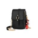 New Fashion Solid Color Utility Crossbody Bag 13*8*20 CM