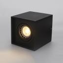 Office Meeting Room LED Down Light 5W Black/White Square Ceiling Light in White/Warm