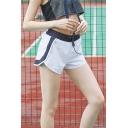 Girls Summer Fashion Drawstring Waist Quick Dry Running Sports Shorts
