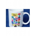 Popular How I Met Your Mother Letter Printed White Porcelain Mug Cup