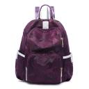 New Fashion Camouflage Printed Waterproof Nylon Travel Backpack Bookbag 30*13*31 CM