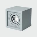 Kitchen Living Room LED Spot Light with Adjustable Angle High Brightness 1/2 Heads Flush Mount Light in White/Warm