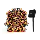 200 LEDs 73ft Constant or Flickering light Solar Patio Outdoor String Light