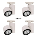 (4 Pack)Display Window Wireless Overhead Light Aluminum High Brightness 1 Light LED Track Light in White/Warm White