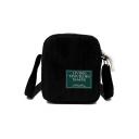 Fashion Letter Patchwork Crossbody Bag for Teenage Girls 15*5*20 CM
