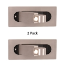 (2 Pack)Angle Adjustable Sconce Lamp Wireless High Brightness Aluminum LED Spot Light Recessed with 3 Color Option
