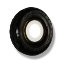 Black Tyre Wall Sconce Light One Light Industrial Plastic Wall Lighting for Restaurant