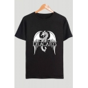 New Fashion Dragon Dracarys Printed Short Sleeve Round Neck Casual Cotton Unisex T-Shirt