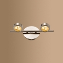 Mirror Bathroom Wireless Wall Light Waterproof 2/3/4 Heads High Life LED Spot Light in White/Warm White