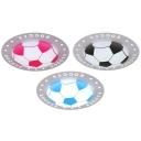 Soccer Pattern Ceiling Light Stepless Dimming Acrylic LED Flush Mount Light for Boy Girl Bedroom