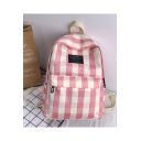 Popular Plaid Pattern Letter Patched School Bag Backpack 28*12*39 CM