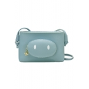 Cute Cartoon Pig Nose Patched Crossbody Cell Phone Purse 19*4*12 CM