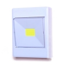3/6 Pack 12 LED Cabinet Lighting Battery Powered Square Switch Control Closet Lighting