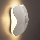 6 LED Stick On Light Dusk to Dawn Sensing and Motion Sensing Night Lighting for Bathroom Hallway