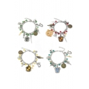 New Trendy Fashion Silver Combination Charm Bracelet for Gift