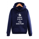 Keep Calm Letter Printed Long Sleeve Pullover Casual Hoodie