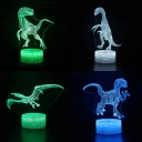 Touch Sensor LED Night Light with Touch Sensor Bedroom Bathroom 7 Color Changing Illusion Light