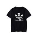 Popular Dragon Dracarys Short Sleeve Round Neck Casual Unisex T-Shirt