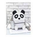 Cute Cartoon Panda Pattern Rivet Decoration Leisure Backpack 22*12*22 CM