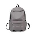 Stylish Letter Printed Multipurpose Laptop Backpack School Backpack 28*14*43 CM